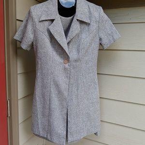 Vintage splurge by isb 2 piece dress suit.